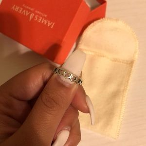 JAMES AVERY HEART BAND RING SIZE 5